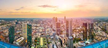 Frankfurt Germany Sunset