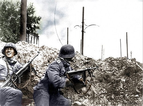 World War II Trench