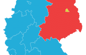 Deutschland Bundeslaender 1957