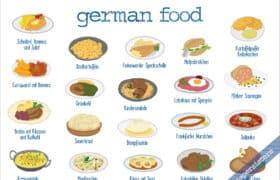 delicious german food