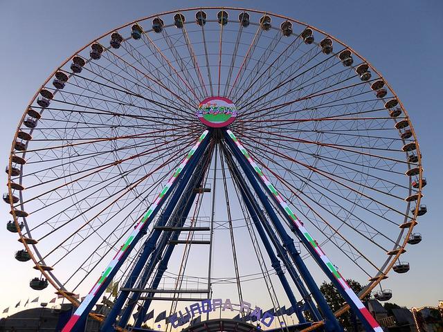 Ferris wheel-things to do in stuttgart