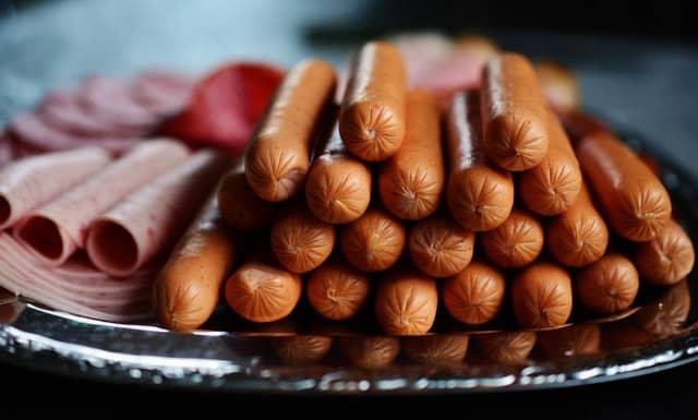 Bierwurst sausage