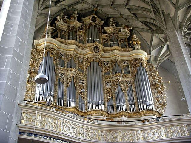 Halle Große Orgel Marktkirche