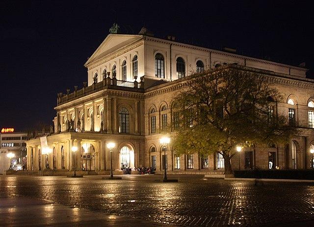 Hanover opera house
