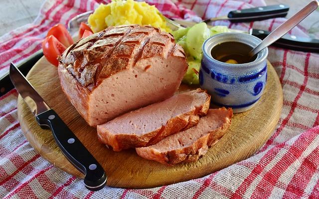 Leberkäse - german sausage