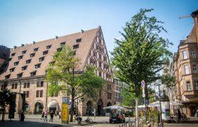 Nuremberg city center