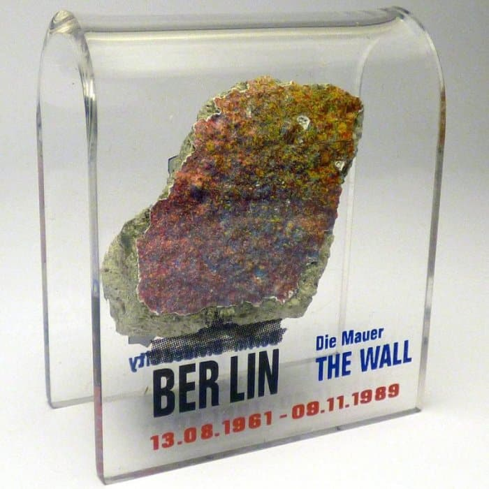 Original Piece of the Berlin Wall